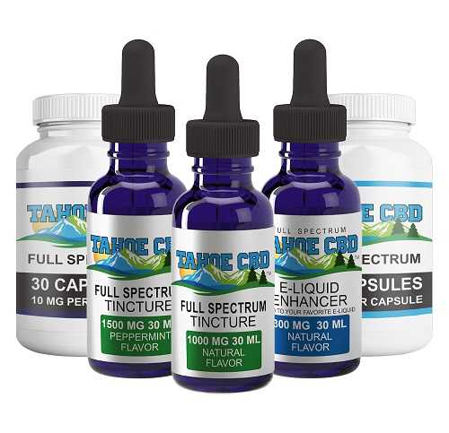 Full Spectrum CBD Products